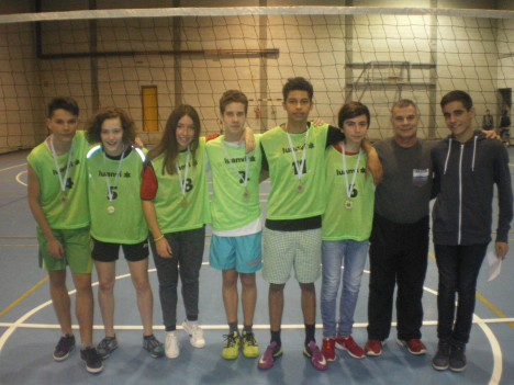 voley 3º eso